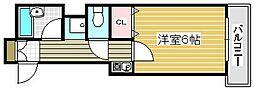エスパシオコモド[3階]の間取り