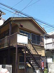 東京都板橋区常盤台3丁目の賃貸アパートの外観