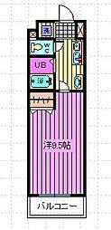 エトワール東浦和[1階]の間取り