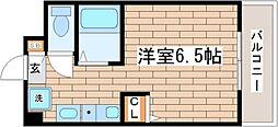 パークヒルズ神戸II[3階]の間取り