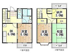 [テラスハウス] 神奈川県横浜市緑区長津田町 の賃貸【/】の間取り