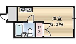 スタジオ32[2階]の間取り