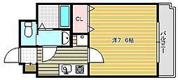 ラグゼ茨木II[309号室]の間取り