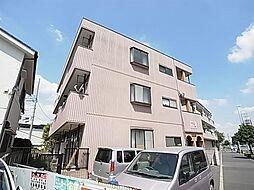 東京都足立区青井3丁目の賃貸マンションの外観