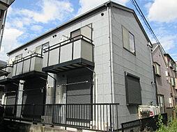 神奈川県川崎市中原区上新城1丁目の賃貸アパートの外観