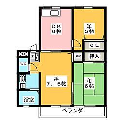 レトア新栄[2階]の間取り