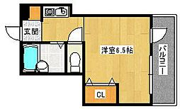メゾン花博[2階]の間取り