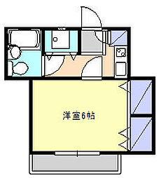 逗子プリマベーラ[1階]の間取り