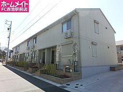 愛知県名古屋市緑区鶴が沢3丁目の賃貸アパートの外観