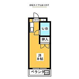 柴田山田ビル[4階]の間取り