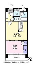 レジデンス花の木[2階]の間取り