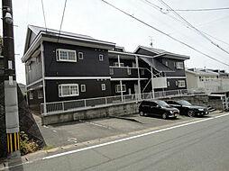 福岡県春日市平田台4丁目の賃貸アパートの外観