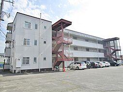 山梨県笛吹市石和町川中島の賃貸アパートの外観