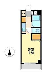 愛知県名古屋市中村区大宮町2丁目の賃貸マンションの間取り