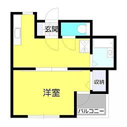 プロミネンス13[4階]の間取り