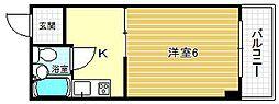 サカエマンション[3階]の間取り