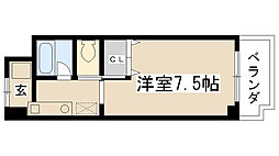 オード夙川[4-C号室]の間取り