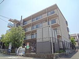 京都府宇治市伊勢田町中荒の賃貸マンションの外観