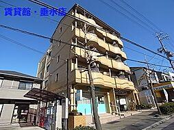 兵庫県神戸市垂水区小束山本町2丁目の賃貸マンションの外観