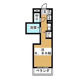 esperance[3階]の間取り