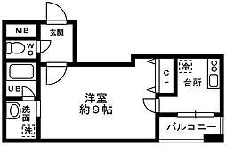 メゾンアムール[4階]の間取り