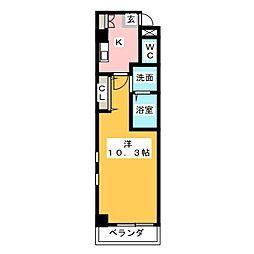 本州守山ビル[7階]の間取り