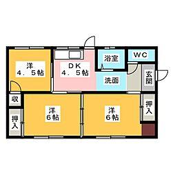 [一戸建] 三重県松阪市嬉野野田町 の賃貸【/】の間取り