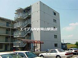 岡山県岡山市中区桜橋1丁目の賃貸マンションの外観