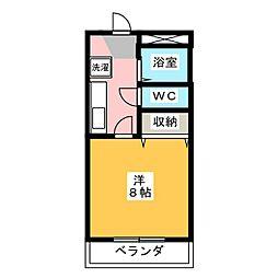 サンライトハイム7[1階]の間取り