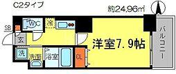 アドバンス大阪城アンジュ[2階]の間取り