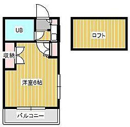 ジュネパレス新松戸第41[1階]の間取り