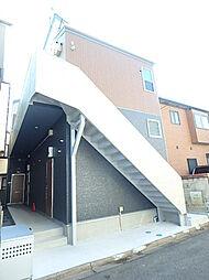 神奈川県相模原市南区相南4丁目の賃貸アパートの外観