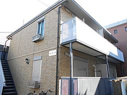 静岡県静岡市駿河区見瀬の賃貸アパートの外観