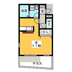 ドミール・S[1階]の間取り