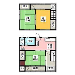 [一戸建] 愛知県一宮市大和町馬引字郷裏 の賃貸【/】の間取り