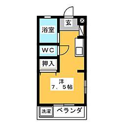 マンションDARUMA[3階]の間取り