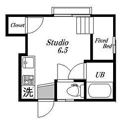 ふじみハウス[1階]の間取り