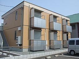 静岡県富士市森島の賃貸アパートの外観