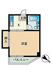 平尾第一ビル[301号室]の間取り