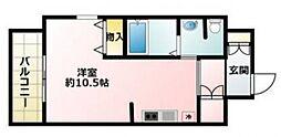 マリス京橋 Wing[601号室号室]の間取り