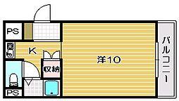 センチュリーOS[203号室]の間取り