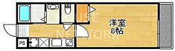 セントポーリア円町[308号室号室]の間取り