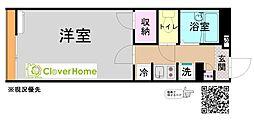 東京都町田市常盤町の賃貸アパートの間取り
