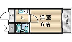 ジョイフル新大阪[5階]の間取り