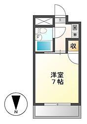 ジュネス平松[3階]の間取り