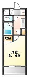 エスペランサK津田沼駅前[2階]の間取り
