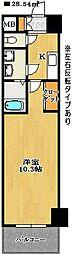 レ・ソール本八幡エルア[4階]の間取り