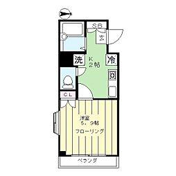 アンデスビル[2階]の間取り