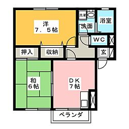 S・H・ドリ−ム[1階]の間取り