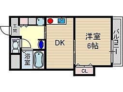 プライム青葉丘[4階]の間取り